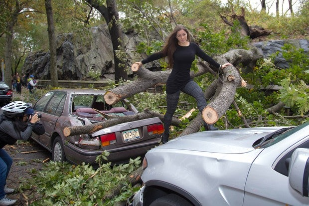 A Guide to Posing for Glamour Shots in the Aftermath of a Devastating Natural Disaster