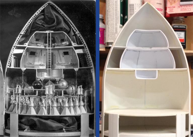 How One Man Recreated the First Spaceship that Ever Appeared on Film