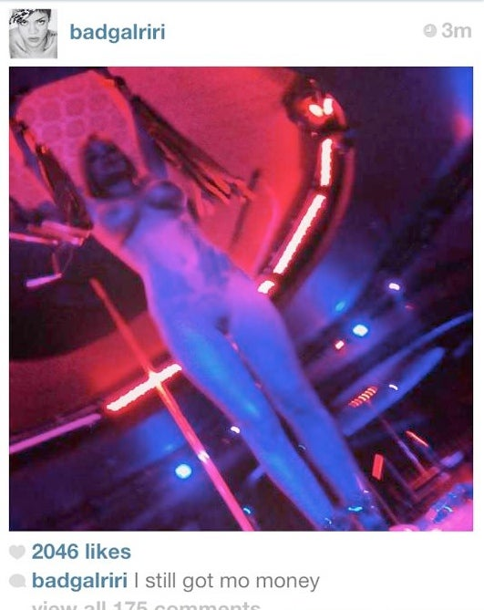 Now Rihanna's Instagram Is Just Fucking With Us