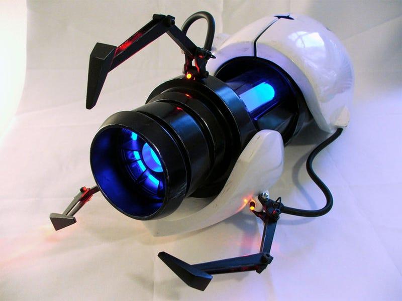 A Real Portal Gun (Well, Sort Of)