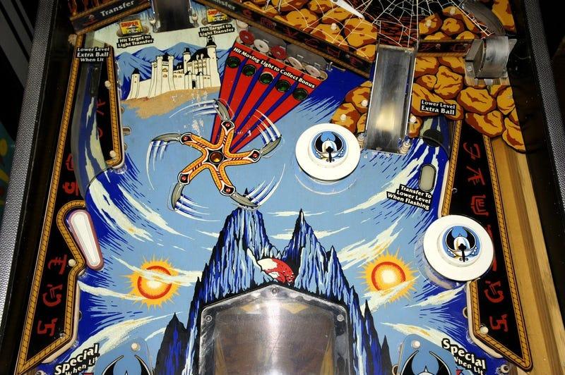 Krull Pinball Table