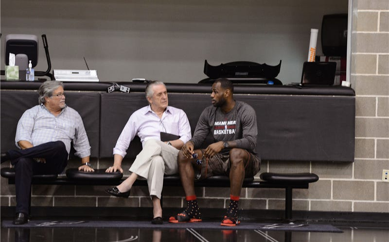 """Pat Riley Says The Heat """"Don't Need To Rebuild"""""""
