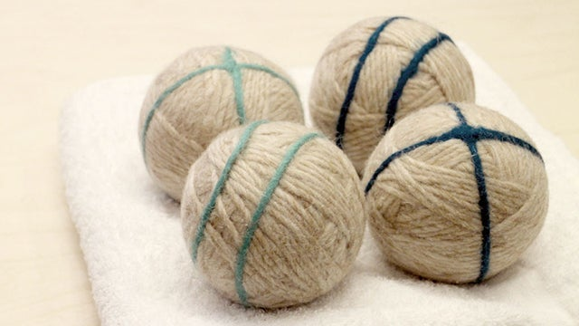 Make DIY Yarn Dryer Balls for Chemical-Free, No-Static Circulation