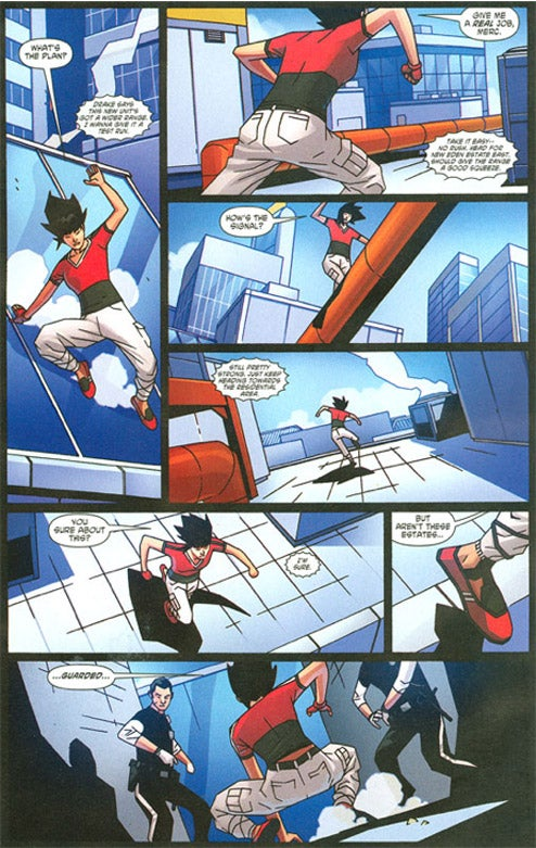 A Look At The First Mirror's Edge Comic Book