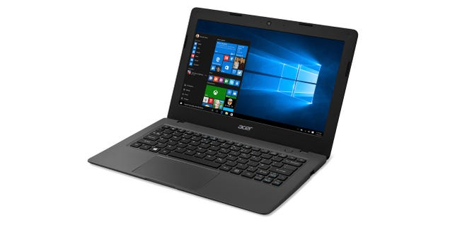 Acer's Cloudbook: Like a Chromebook, But With Windows 10 for $170
