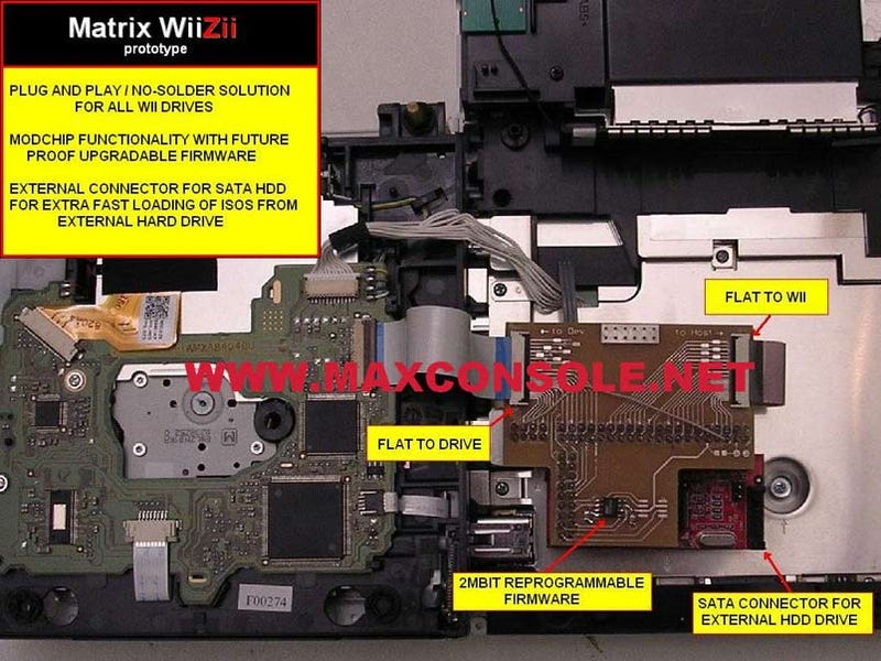 Plug & Play WiiZii Brings Hard Drive to Wii Minus Solder