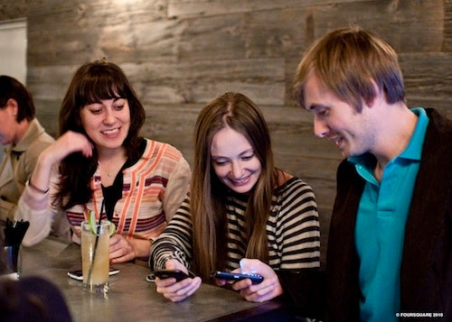 Is Foursquare Ruining Eating Out?