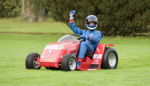 Lawnmower Aims To Set 100 MPH World Speed Record