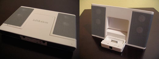 iPod Dock Bracket, Altec Lansing iM3 Vs. Griffin Journi