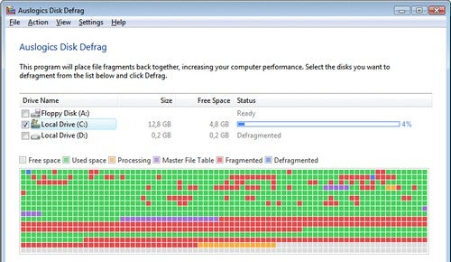 Five Best Disk Defragmenters