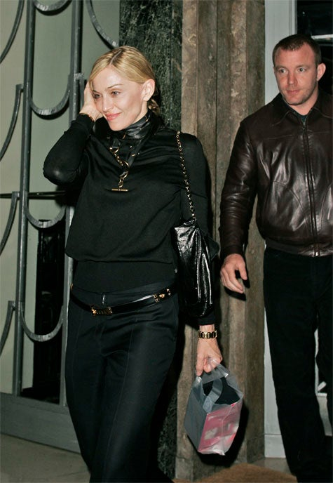 "Madonna & Guy Ritchie Have A ""Sexy"" Secret"