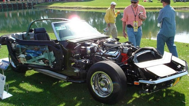 No Superpowers Are Necessary To See Through This Corvette