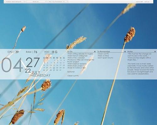The Elemental LiteStep Desktop