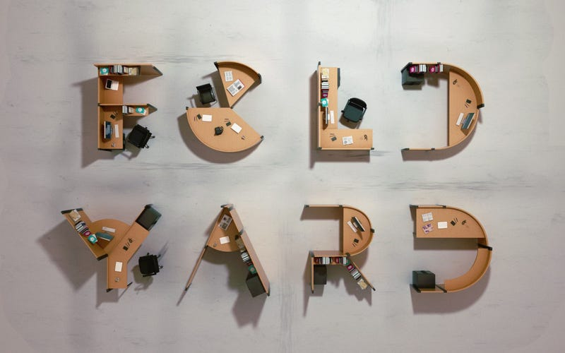 9 Crazy 3D Typefaces Made From Everyday Objects