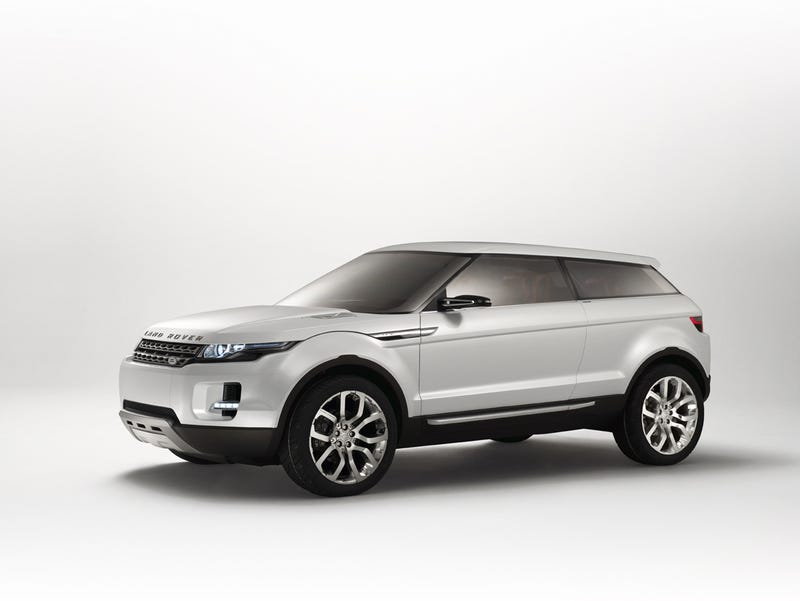 Land Rover LRX Heading To Production, Hybrid Model Possible