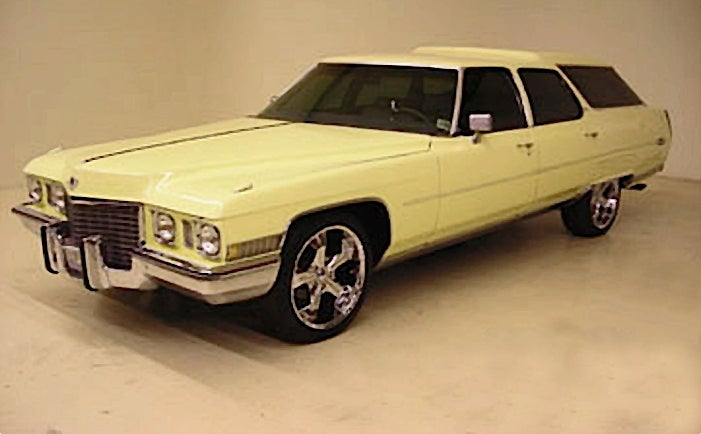 For $17,995, It's The Cadillongroof