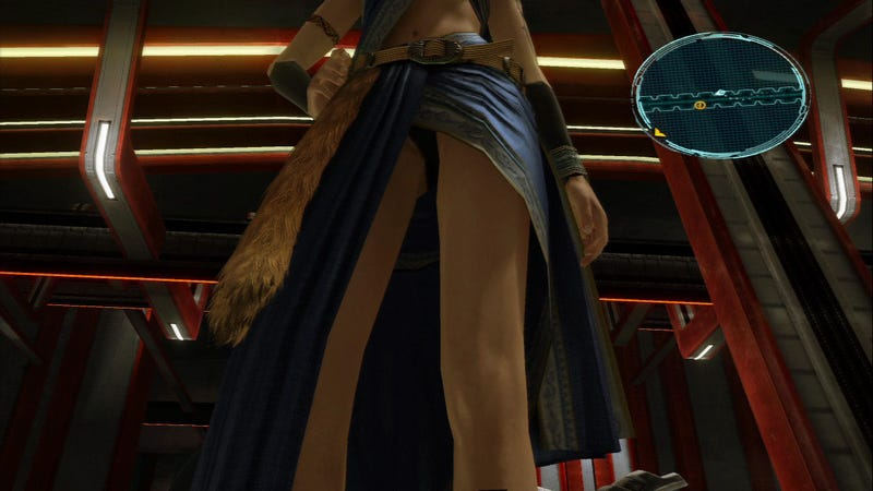Let The Final Fantasy XIII Upskirts Start!