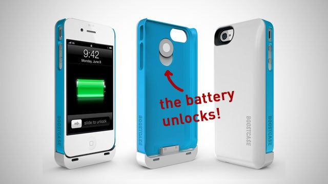 The Boost Case Provides Your iPhone with an Extra Battery When You Want It and a Slim Case When You Don't