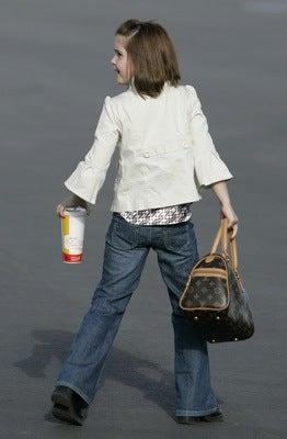 Little Piper Palin's $790 Designer Handbag