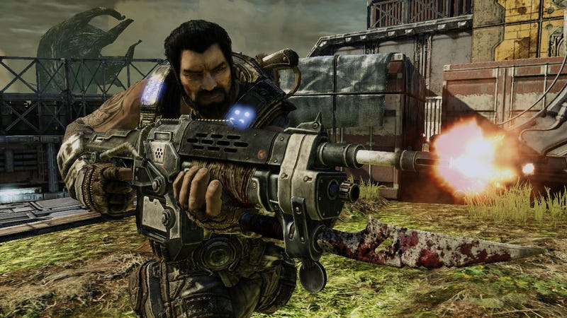 1,000 Gears of War 3 Beta Bullets Fired For Every Chainsaw Kill