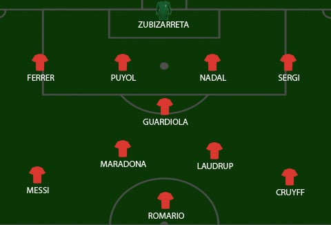 The Spoiler's Greatest Ever Barcelona XI
