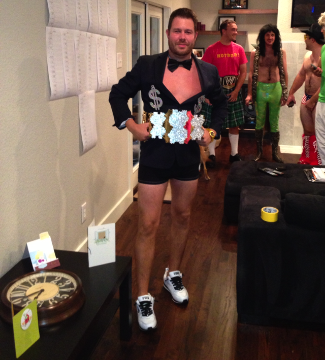 WWF-Themed Fantasy Football Draft Features Impressive Costumes