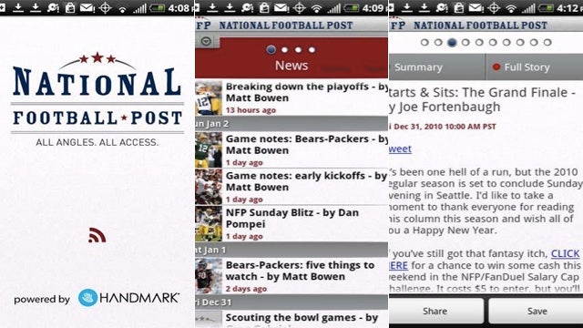 National Football Post Keeps You Posted with the National Football League