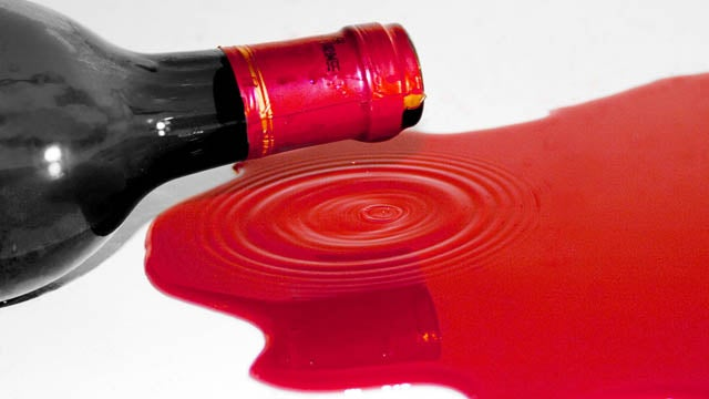 $1M Worth Of Red Wine Destroyed In Tragic Accident