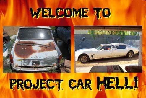 PCH, Molten Sulfur Edition: V8 Peugeot 404 or Corvette Limo?