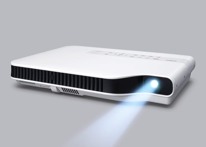 Casio's Mercury-Free Projector Uses First of Its Kind Laser-LED Hybrid Light