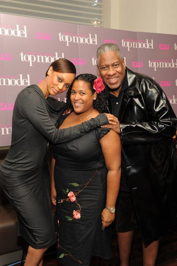 Tyra Banks, André Leon Talley & Yours Truly: The Smize Have It