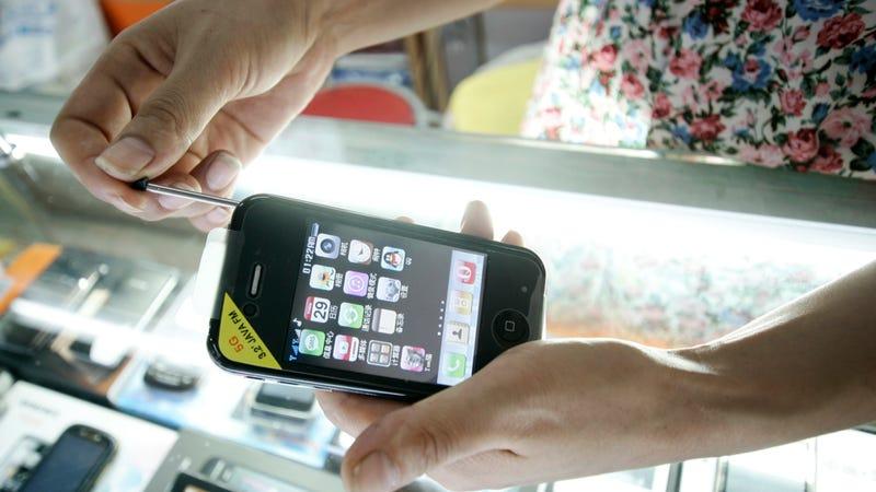 iPhone Belts? iPhone Flashlights? iPad Concrete? Oh China.