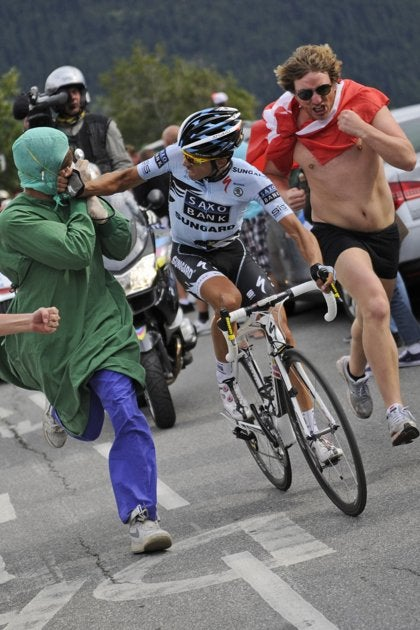 Tour De France, Stage 19: Like A Punch In The Face