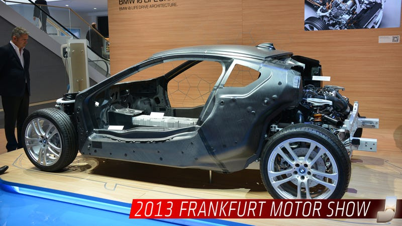 The BMW i8 Is Great But Its Chassis Is Sexier