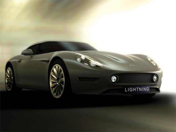 Lightning GT Strikes The UK In CGI Glory