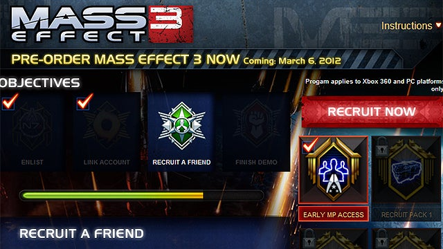Irritating Mass Effect 3 Facebook App Could Use Some Calibrations