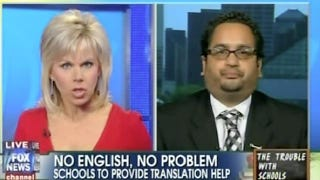 Gretchen Carlson Demands You Speak English Right Now