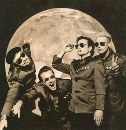 The Future Needs a Big Kiss: U2 Are Science Fiction's Finest Band