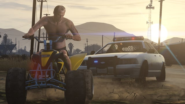 In GTA V's Latest Screens: Cars and Trucks and Things That Go