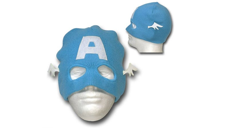 Fight HYDRA (Or Just the Elements) with This Captain America Beanie