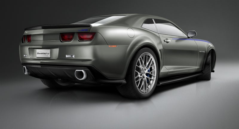 First 705 HP LS9-Powered Hennessey Camaro