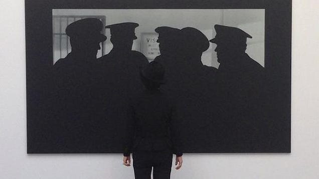 Yoko Ono Converses With Shadows