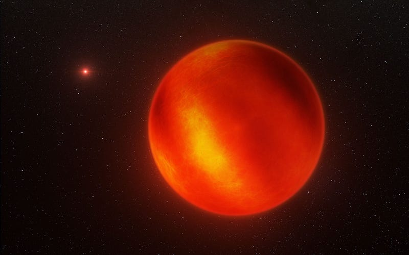 This is the First-Ever Weather Map of a Brown Dwarf