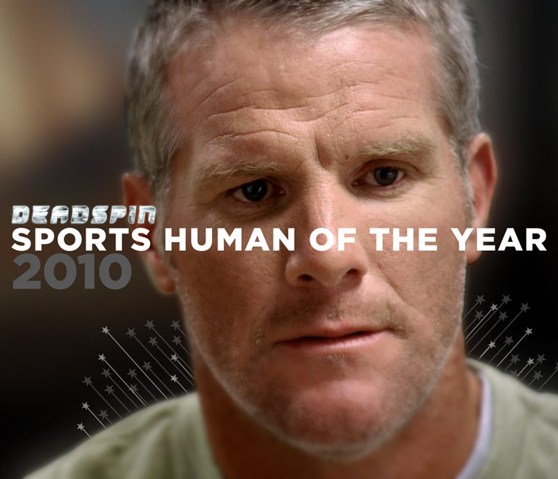 Your 2010 SHOTY: Brett Favre