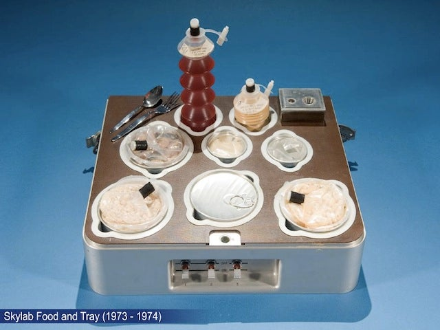 Take a photographic tour of NASA's space food through the decades