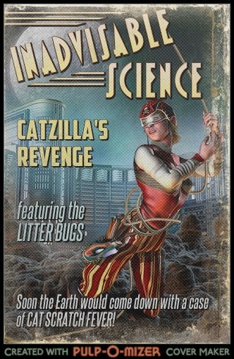 Create your own pulp magazine covers with the Pulp-O-Mizer