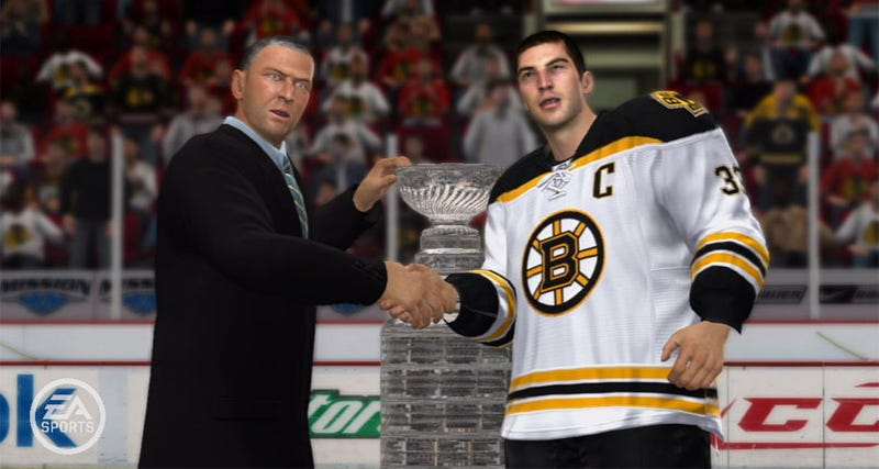 EA Sports Bets Boston Bruins Will Win Stanley Cup