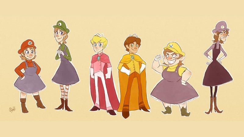 The Super Mario...Sisters?