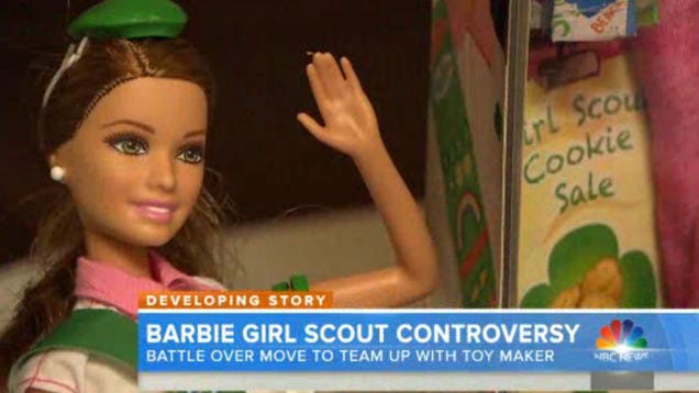 People Are Really Pissed About the Girl Scout Barbie