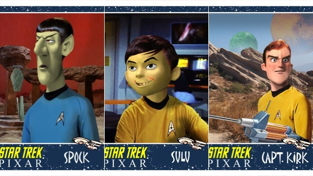 What It Would Look Like If Pixar Made Star Trek